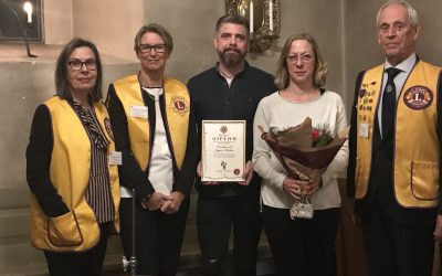 Vallentuna Lions Fritidsledarstipendium 2018
